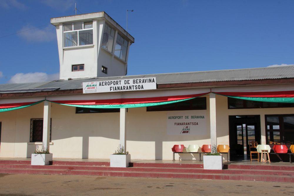 Madagaskar Binnenflüge. Airport Fianarantsoa Madagaskar