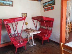 Madagaskar Antsirabe Restaurant Pousse-Pousse