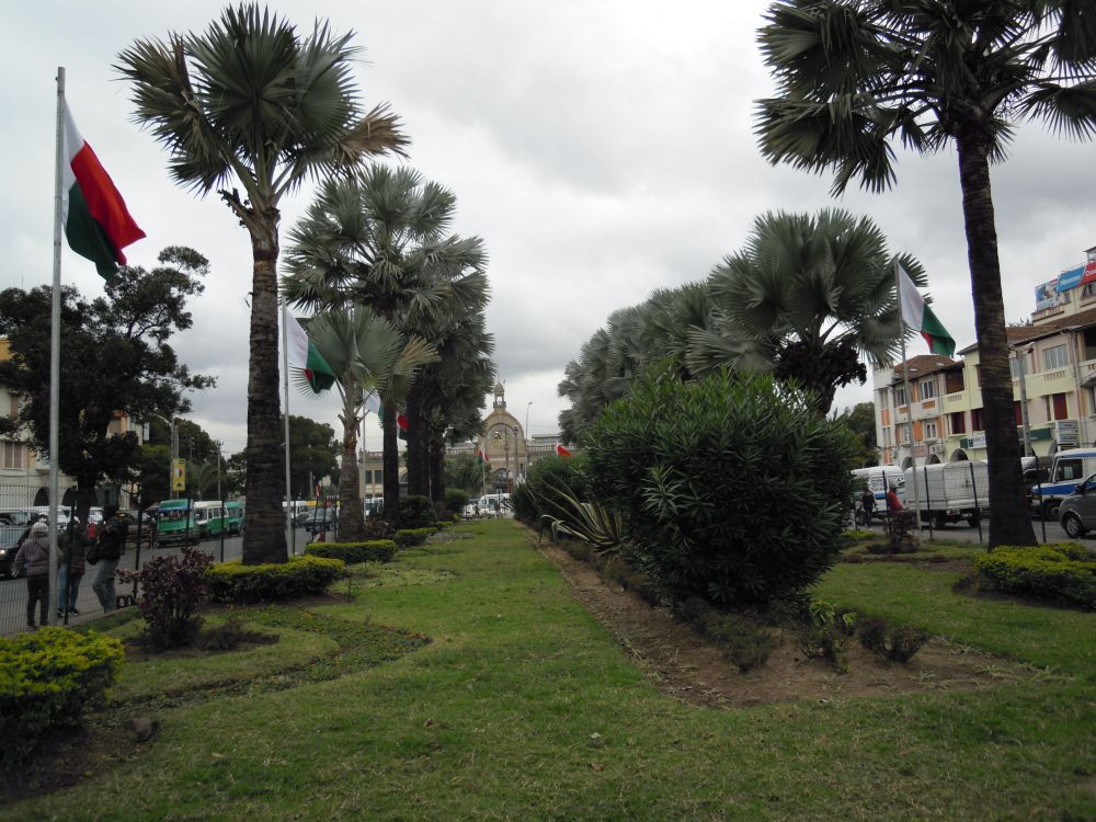 Antananarivo Madagaskar Juni 2020. Avenue de l'Indépendance