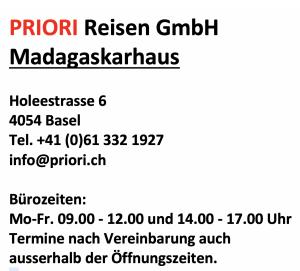 Adresse Madagaskarhaus Basel