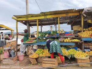 Marché Mandroseza Antananarivo Madagaskar April 2021