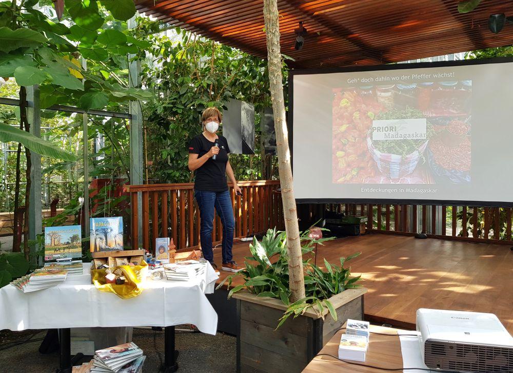 Pfefferland Madagaskar im Tropenhaus Frutigen