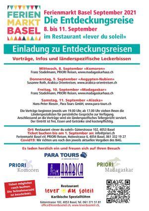 Ferienmarkt Basel 2021