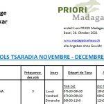 2021 Binnenflüge Madagaskar
